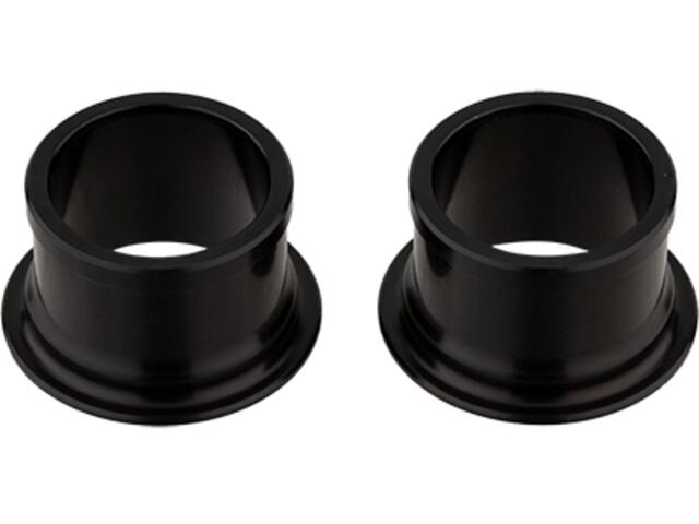 NEWMEN MTB Zestaw zaślepek Ø15 mm dla piast przednich Gen2, black anodised